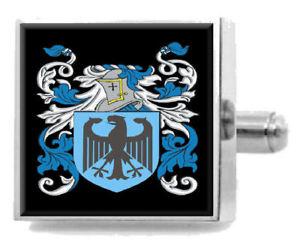 【送料無料】メンズアクセサリ― matchettスターリングカフスリンクmatchett england heraldry crest sterling silver cufflinks engraved box