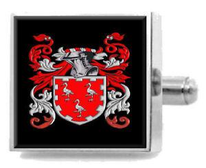 【送料無料】メンズアクセサリ― スコットランドカフスボタンボックスcranston scotland heraldry crest sterling silver cufflinks engraved box