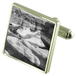 送料無料 メンズアクセサリ― オプショングランドキャニオンスターリングカフスリンクdesert grand canyon sterling silver cufflinks optional engraved boxYy7f6bg
