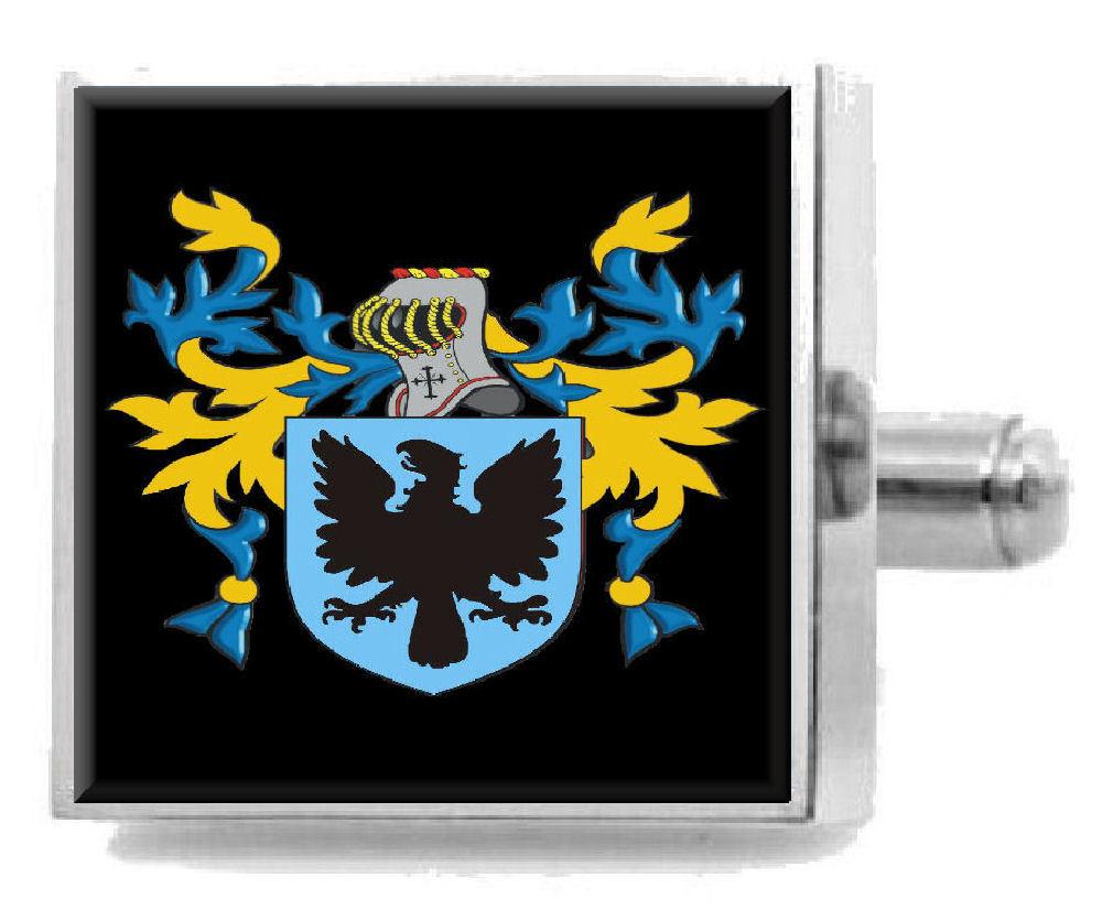 【送料無料】メンズアクセサリ― ricquishスターリングカフスリンクricquish england heraldry crest sterling silver cufflinks engraved box