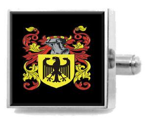 【送料無料】メンズアクセサリ― スコットランドカフスボタンボックスkincade scotland heraldry crest sterling silver cufflinks engraved box