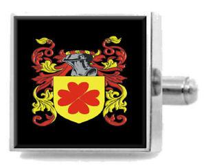 【送料無料】メンズアクセサリ― イギリスカフスボタンボックスwearmouth england heraldry crest sterling silver cufflinks engraved box