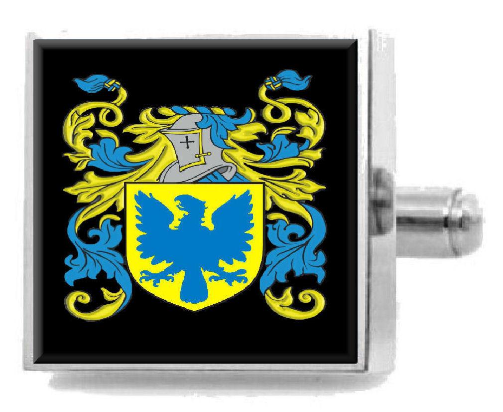 【送料無料】メンズアクセサリ― スコットランドカフスボタンボックスkinnibrugh scotland heraldry crest sterling silver cufflinks engraved box
