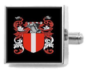 【送料無料】メンズアクセサリ― アイルランドカフスボタンボックスmacguire ireland heraldry crest sterling silver cufflinks engraved box