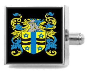 【送料無料】メンズアクセサリ― マコーリースコットランドカフスボタンボックスmacauley scotland heraldry crest sterling silver cufflinks engraved box