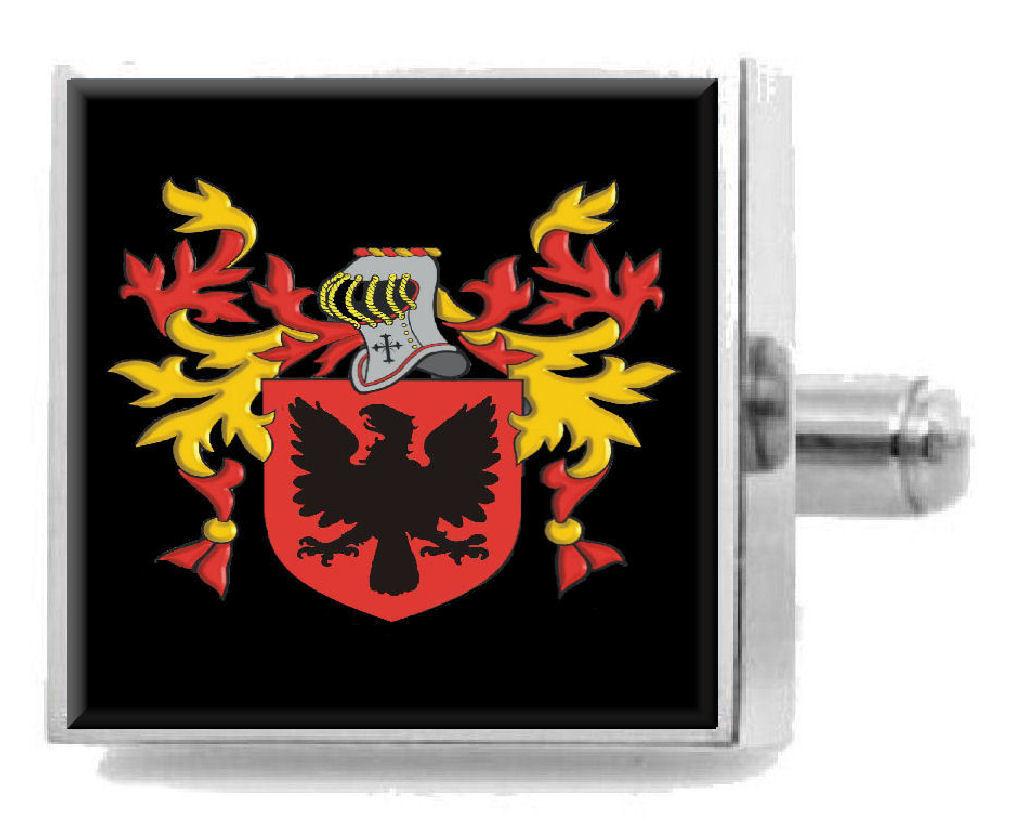 【送料無料】メンズアクセサリ― スコットランドカフスボタンボックスthubron scotland heraldry crest sterling silver cufflinks engraved box