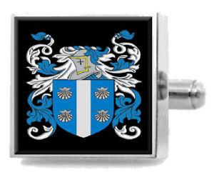 【送料無料】メンズアクセサリ― アイルランドカフスボタンボックスcallaghan ireland heraldry crest sterling silver cufflinks engraved box