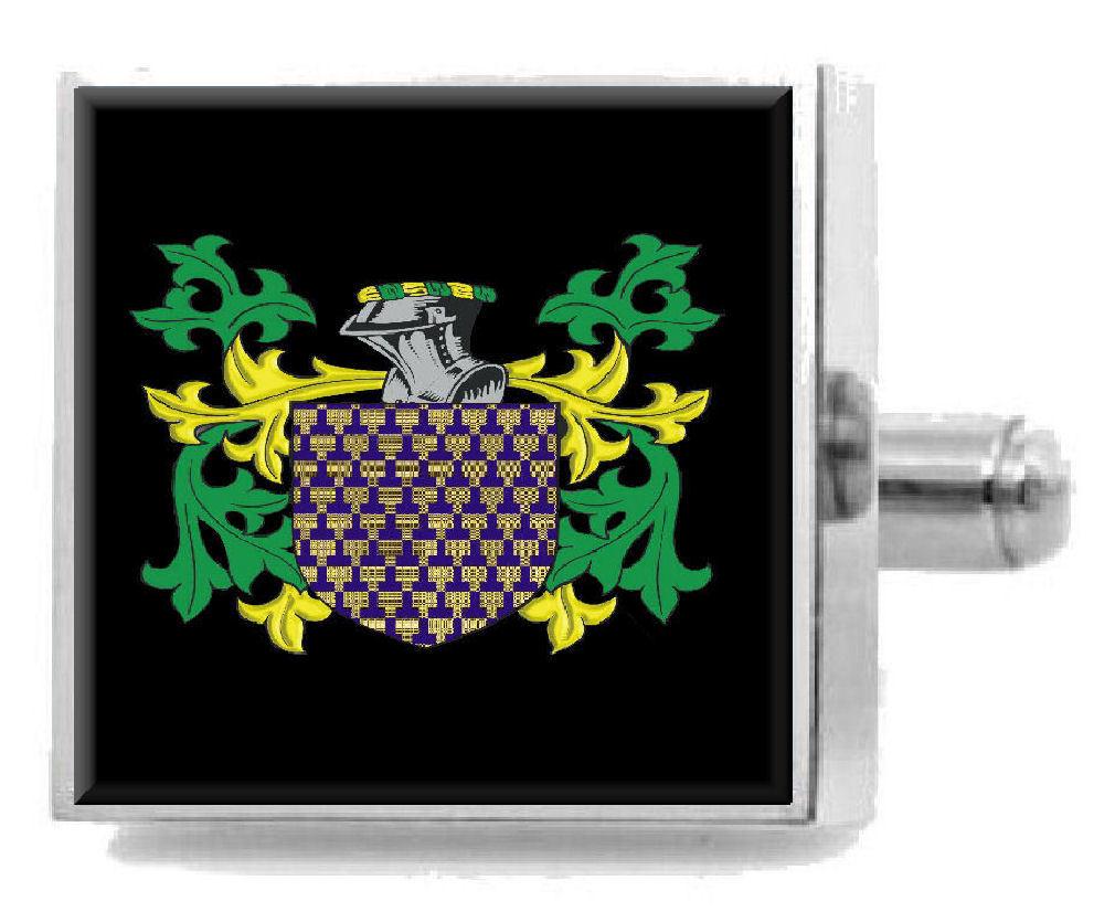【送料無料】メンズアクセサリ― ウェールズカフスボタンボックスcadwalleder wales heraldry crest sterling silver cufflinks engraved box