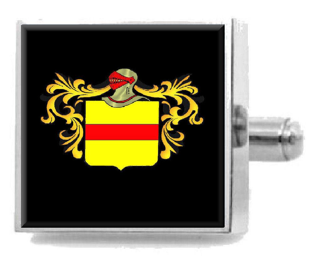 【送料無料】メンズアクセサリ― コルヴィルスコットランドスターリングカフスリンクcolville scotland heraldry crest sterling silver cufflinks engraved box
