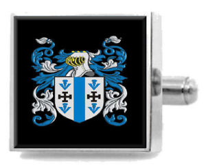 【送料無料】メンズアクセサリ― アイルランドカフスボタンボックスmaccusker ireland heraldry crest sterling silver cufflinks engraved box