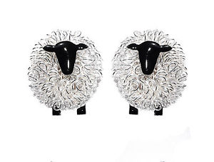 【送料無料】メンズアクセサリ― カフスボタンカフリンクスhandcrafted sterling silver sheep cufflinksperfect wedding cufflinks, sheep