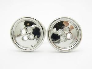 【送料無料】メンズアクセサリ― custom プラチナボタン3dカフスリンクplatinum sterling bridal custom hand button made button 3d design cufflink bridal gift, おゆばいまい:3169a8f8 --- sunward.msk.ru