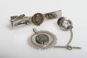 【送料無料】メンズアクセサリ― タイクリップビンテージコダックメダイヨンvintage kodak 25 years of employment jewelry employee tie clip, medallion
