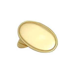【送料無料】メンズアクセサリ― ゴールドクラシックカフリンクスパーソナライズreal 375 9ct gold classic edged oval cufflinks engravable personalise name