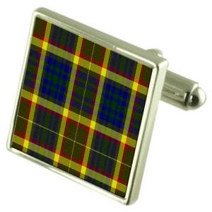 【送料無料】メンズアクセサリ― タータンチェックアーカンソースターリングシルバーカフスボタンボックスus state tartan arkansas sterling silver cufflinks engraved box