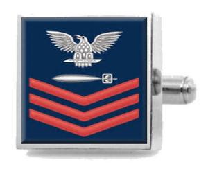 【送料無料】メンズアクセサリ― カフリンクスチームメイトsterling engraved cufflinks us navy red e6 torpedomans mate tm