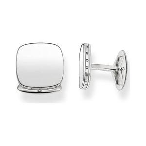 【送料無料】メンズアクセサリ― トーマススターリングシルバークッションカフスボタン¥mk68 genuine silver 179 thomas sabo cufflinks sterling silver cushion shape plain cufflinks 179, 内野タオル&バスショップ:d0e0a23f --- sunward.msk.ru