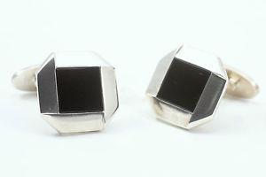 【送料無料】メンズアクセサリ― ゲオルクイェンセンカフスボタンデザイナーgeorg jensen sterling silver piazza cufflinks designer allan scharff