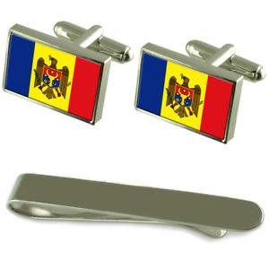 Tighina City Moldova Flag Tie Clip