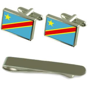 【送料無料】メンズアクセサリ― フラグシルバーカフスボタンタイクリップボックスセットzare flag silver cufflinks tie clip box gift set