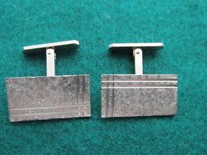 【送料無料】メンズアクセサリ― ヴィンテージヘンリーグリフィスカフリンクスvintage henry griffiths hm silver cufflinks swivlink