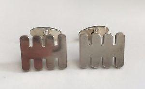 【送料無料】メンズアクセサリ― ロンドンメンズスターリングシルバーカフリンクスemmett london mens sterling silver cufflinks