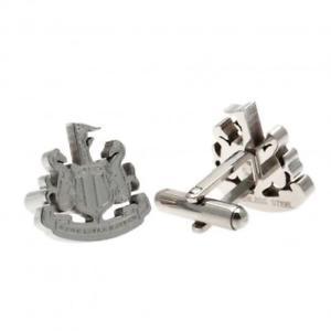 【送料無料】メンズアクセサリ― ニューカッスルユナイテッドステンレスカフスボタンクレストファンボックスライセンスcastle united stainless steel cufflinks crest fan gift box icial licensed