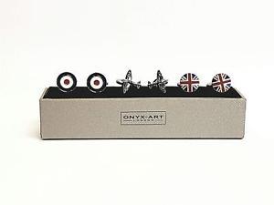 【送料無料】メンズアクセサリ― カフスボタンカフリンクスセットraf set of 3 cufflinks cuff links gift set