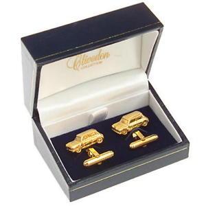 【送料無料】メンズアクセサリ― ミニカフリンクスmini gold plated cufflinks