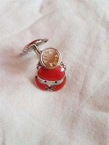 【送料無料】メンズアクセサリ― トーマスピンクカニカフリンクスthomas pink crab cufflinks