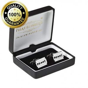 【送料無料】メンズアクセサリ― プレゼンテーションボックスカフリンクスpeaky blinders cufflinks with presentation box
