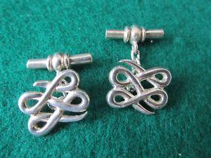 【送料無料】メンズアクセサリ― シェフィールドシルバーカフリンクスhm sheffield silver cufflinks