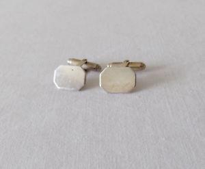 【送料無料】メンズアクセサリ― シルバーカフスボタンbeautiful silver 925 cufflinks not engraved