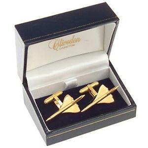 【送料無料】メンズアクセサリ― コンコルドカフリンクスconcorde gold plated cufflinks