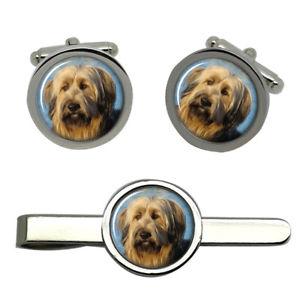 【送料無料】メンズアクセサリ― ラウンドタイクリップセットbriard dog round cufflink and tie clip set