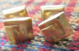 【送料無料】メンズアクセサリ― アールデコカフリンクスart deco expandable cufflinks
