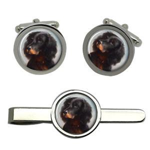 【送料無料】メンズアクセサリ― セッターラウンドタイクリップセット listinggordon setter round cufflink and tie clip set