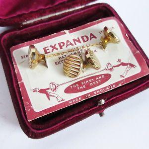 【送料無料】メンズアクセサリ― ヴィンテージカフスリンク  ストラットンexpanda1920sfree delivery オリジナルカードvintage cufflinks stratton expanda 1920s original card free del