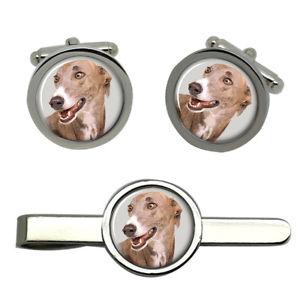 【送料無料】メンズアクセサリ― タイクリップセット listinggreyhound round cufflink and tie clip set