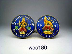 【送料無料】メンズアクセサリ― 19471951カフスリンク19471951 british shilling cufflinks choice of year