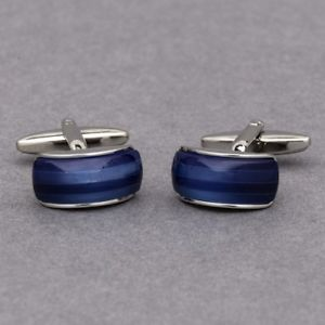 【送料無料】メンズアクセサリ― サファイアカフスボタンravishing sapphire cufflinks