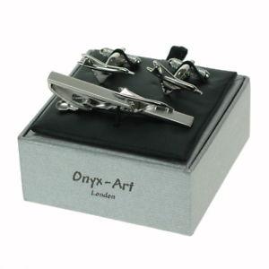 【送料無料】メンズアクセサリ― コンコルドタイバーオニキスアートボックスconcorde tie bar amp; cufflink set by onyx art boxed tbc30