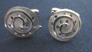 【送料無料】メンズアクセサリ― 2001hmカフスリンク2001 articulated silver hm cufflinks