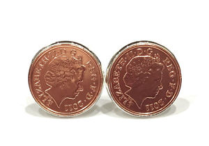 【送料無料】メンズアクセサリ― カフスボタンコイン7th copper wedding anniversary cufflinks copper 1p coins from 2011 gift idea