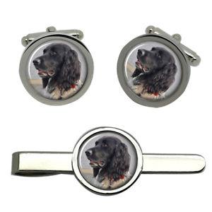 【送料無料】メンズアクセサリ― ラウンドタイクリップセット listinglarge mnsterlnder dog round cufflink and tie clip set