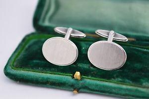 【送料無料】メンズアクセサリ― ビンテージスターリングシルバーアールデコデザインカフリンクスvintage sterling silver cufflinks with an art deco design b114