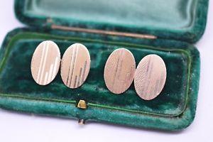【送料無料】メンズアクセサリ― ビンテージアールデコスターリングシルバーゴールドプレートカフリンクスvintage art deco sterling silver cufflinks with a 9ct gold plate b42