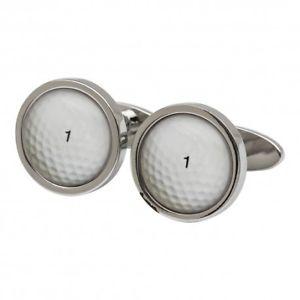 【送料無料】メンズアクセサリ― ソニアスペンサーゴルフボールカフスリンクgolf ball cufflinks by sonia spencer england