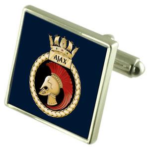【送料無料】メンズアクセサリ― hmsエージャックスカフスリンクroyal navy hms ajax cufflinks