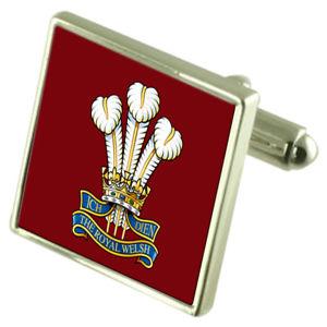 【送料無料】メンズアクセサリ― ウェールズカフスリンクarmy the royal welsh cufflinks